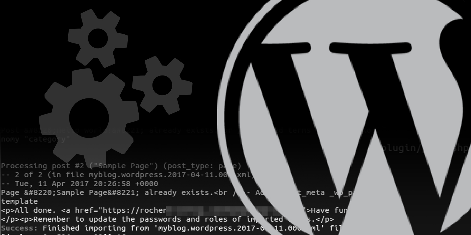 Backup and Restore WordPress Files, Folders and Content with WP-CLI